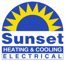 Sunset Heating & Cooling - Logo