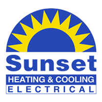 Sunset Heating & Cooling logo