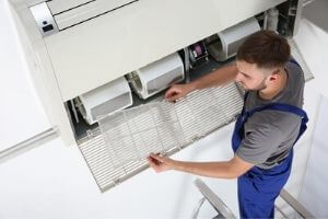 cleaning air filters